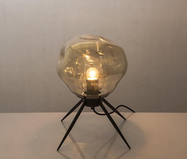 加多代XJC1115四脚玻璃美式简约艺术台灯