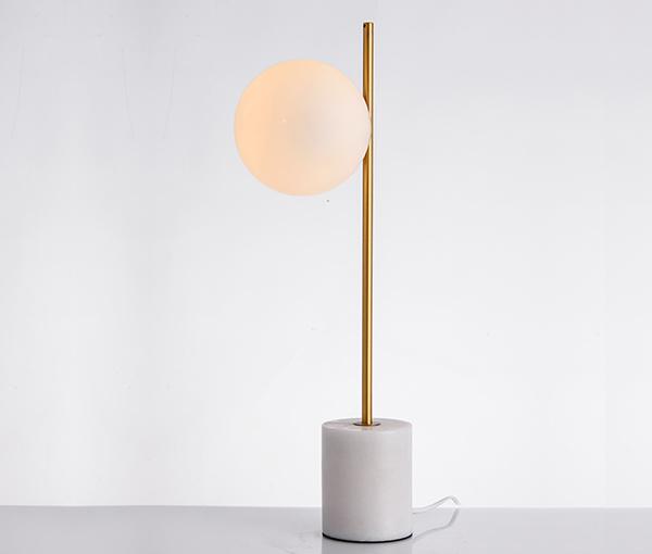 加多代XJC1145简约圆球玻璃美式台灯