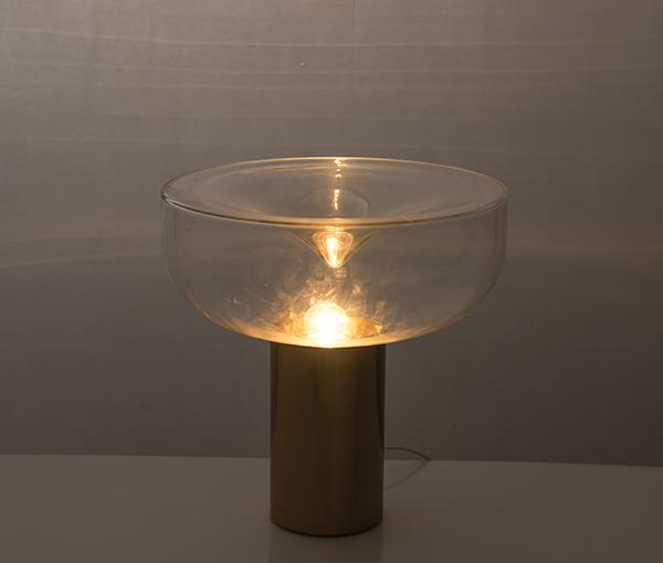 加多代玻璃漩涡美式简约XJC7259-T后现代台灯