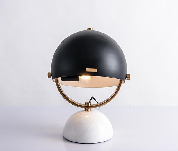 加多代XJC8859美式简约帽子台灯