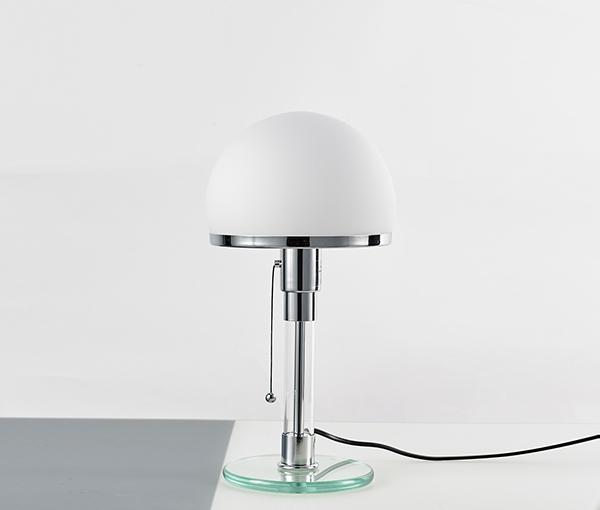 加多代设计感后现代半圆玻璃台灯