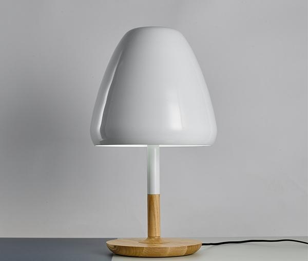 加多代后现代轻奢设计感蘑菇台灯
