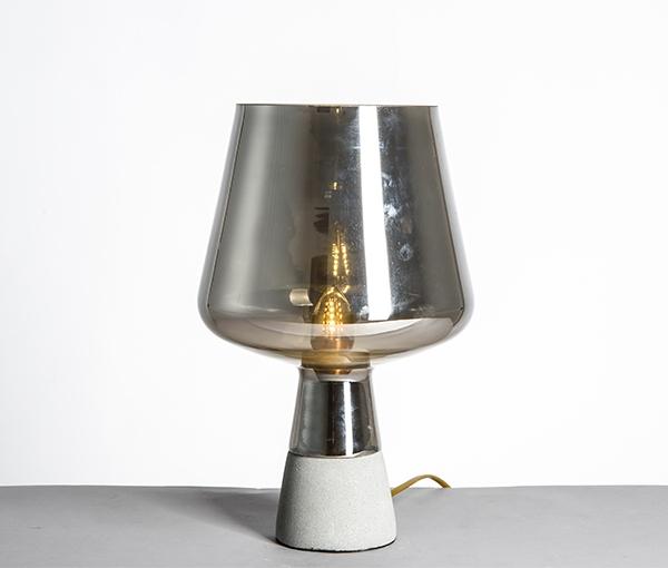 加多代后现代XJC1116玻璃锥形简约美式台灯