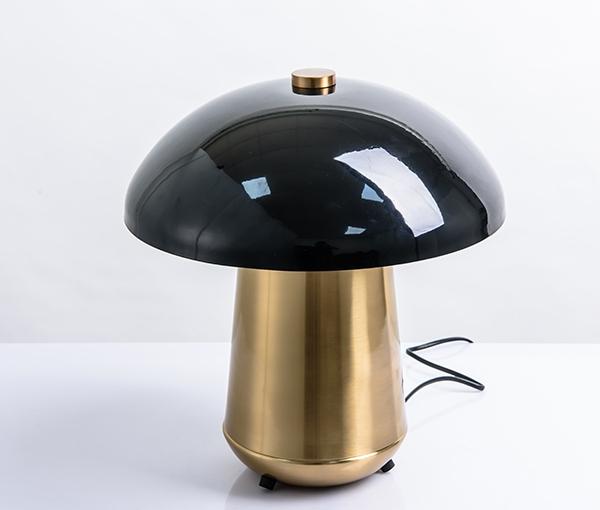 加多代XJC1040美式铁艺蘑菇台灯