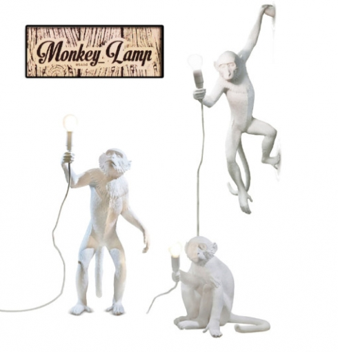 XJC8509 SELETTI MONKEY LAMP