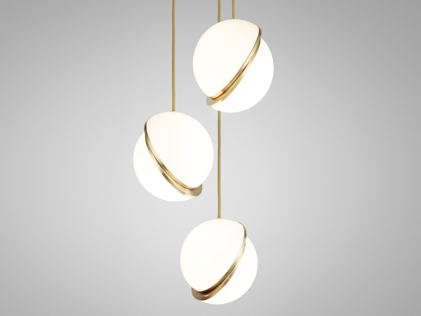 XJC8624 Mini Crescent Lamp by lee broom