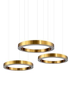 金属圆圈吊灯